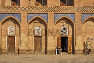 Facade of house in Khiva