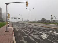 Empty Urban Highway, Montevideo, Uruguay