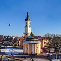 Town hall of Kamianets-Podilskyi, Ukraine