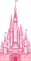 Pink castle for the princess