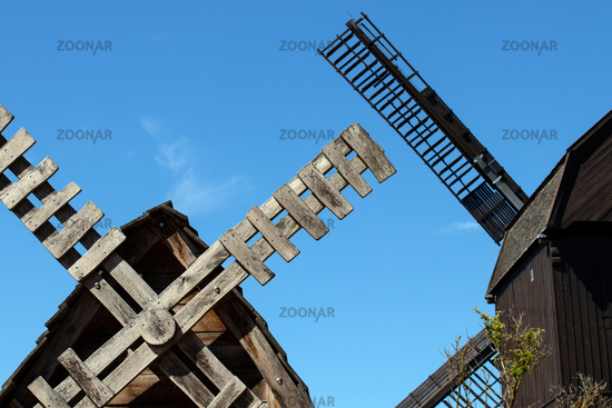 Wind mill 001. Werder. Germany