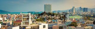 Nha Trang city view. Panorama