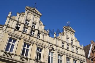 Lüneburg - Klassizistische Altstadthäuser, Deutschland