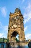 Staromestska Tower in Prague