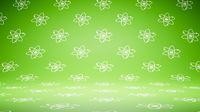 Empty Blank Green Atom Symbol Pattern Studio Background