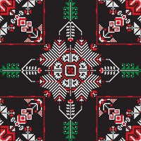 Romanian traditional pattern 199