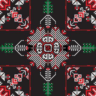 Romanian traditional pattern 199