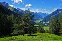 lechtal alps, lech valley, austria, tyrol,