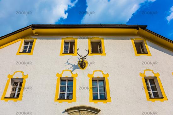 Facade of a monastery house