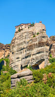Monastery of Varlaam in Meteora in Greece