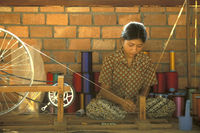 CAMBODIA PHNOM PENH SILK ISALND PRODUCTION