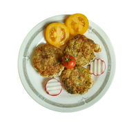 Greek  Zucchini Fritters