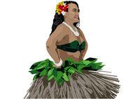 Polynesian Woman Dancer