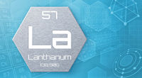 Chemical element of the periodic table - Lanthanum