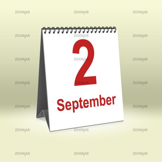 September 2nd | 2. September