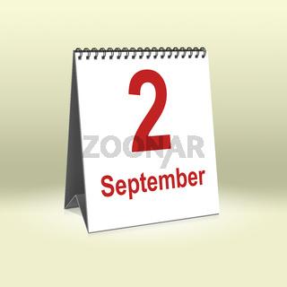 September 2nd   2. September
