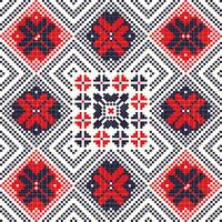 Romanian traditional pattern 91