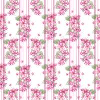 Seamless floral design for background