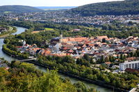 Panorama hike over Kelheim with various viewpoints