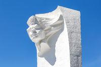 Sculpture to Russian writer Maxim Gorky