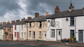 Houses in Dalton-in-Furness, Cumbria, England