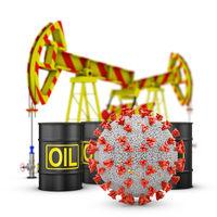 Coronavirus, barrels and pumps