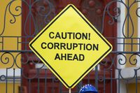 Caution! Corruption ahead