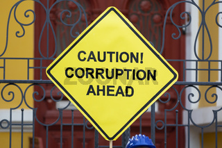 Caution! Corruption ahead