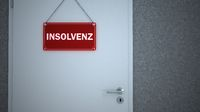 Door Sign Insolvenz