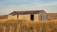 old barn in Nebraska Sandhills