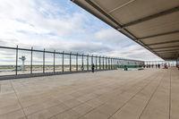 Flughafen Berlin Brandenburg BER Willy Brandt Airport Besucherterrasse