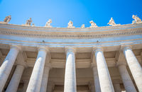 Saint Peter Columns in Rome