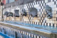 Ancient Italian water fountain