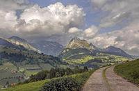 Säntis and Wildhuser Schafberg, Toggenburg, Switzerland