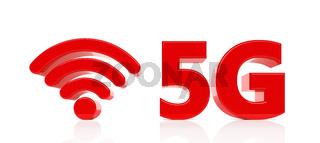 5G Symbol - Illustration