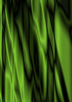 Satin wavy green gradient background