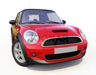 Modern compact car