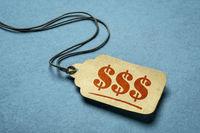 triple dollar sign - price tag