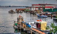 The embankment of Bosphorus in Istanbul, Turkey