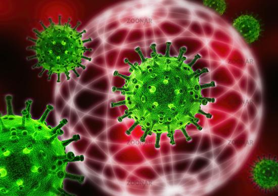 Viruses and globe