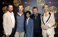 Cate Blanchett, Matthew Rhy, Benedict Cumberbatch, Rohan Chand and Andy Serkis