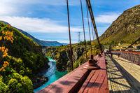 River and bridge Kawarau