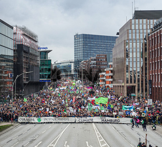'Fridays for Future'- Demonstration in Hamburg, Februar 2020