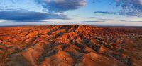 Canyons Tsagaan suvarga in Mongolia