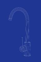 3d model of kitchen faucet