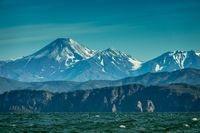 Summer landscape of Kamchatka