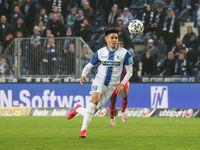 German footballer Raphael Obermair 1st FC Magdeburg DFB 3rd league season 2020-21