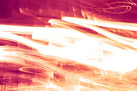 Light waves as abstract futuristic background, science and high tech design
