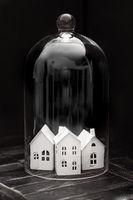 Little house in bell jar