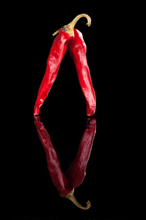 Luxurious chili pepper.